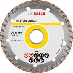 Відрізний диск алмазний Bosch ECO Univ.Turbo 125-22.23 (2.608.615.037)
