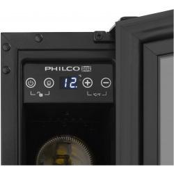 Винотека встроенная Philco PW6BI/6 бутылок/5-22 С/Led-подсветка/сенсор/дисплей/черный (PW6BI)