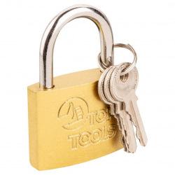 Замок Top Tools навесной 60 мм, 3 ключа (90U273)