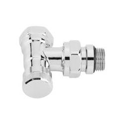Запорный клапан Danfoss RLV-CX, угловой, хром (003L0273)
