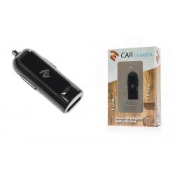 Зарядное устройство 2E USB 1.5A автомобильное, Black (2E-ACRT18-15B)