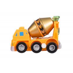 Заводна машинка goki помаранчева  (13219G-4)