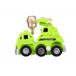 Заводна машинка goki зелена  (13219G-1)