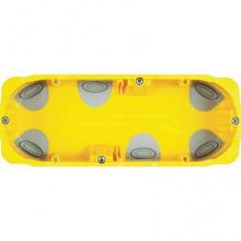 6-Модульная (7 для Livinglight) коробка для сухих перегородок. размери 183x71x52 мм (PB506N)