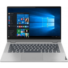 ноутбук 14FIM/i7-1065G7/16/512/MX330 2GB/W10/BL/Pl atinum Grey Flex 5 14IIL05 (81X100NSRA)