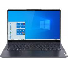 ноутбук 14FIM/i5-1035G1/8/512/MX350 2GB/W10/BL/Sla te Grey Yoga Slim7 14IIL05 (82A100HQRA)