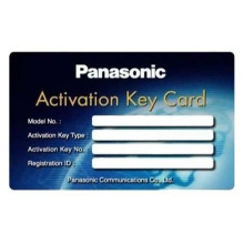Программное обеспечение Panasonic KX-NSM710W ключ актив. 10 SIP extension for KX-NS500/1000 (KX-NSM710W)