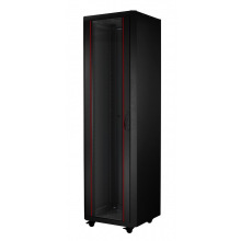 "Шкаф MIRSAN ECO 19"" 42U 600x600, RAL 9005 (MR.GTE42U66.01)"