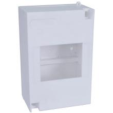 Щит пластиковый ETI EC 4 (наружный 1х4мод, дверь нет, IP30) (1101045)