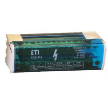 Блок распределительный ETI EDB-215  2p, L+PE/N (125A, 15 выходов) (1102302)