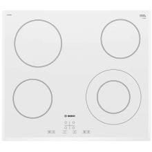 Варильна поверхня електрична Bosch PKF652BB1E -60см/4 конфорки/1 зона розшир./сенс./білий (PKF652BB1E)
