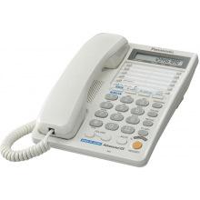 Проводной телефон Panasonic KX-TS2368RUW White (двухлинейный) (KX-TS2368RUW)