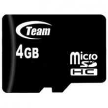 Карта пам`ятi MicroSDHC   4GB Class 10 Team (TUSDH4GCL1002) (TUSDH4GCL1002)