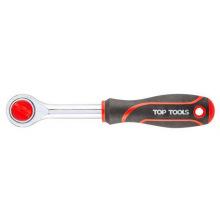 Ключ-трещотка TOP TOOLS 1/4 , 150 мм (38D101)