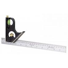 """Кутник з лінійними шкалами комбінований """"Stanley""""; l= 300 мм (0-46-151)"""