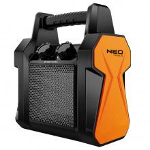 Обігрівач керамічний переносний NEO TOOLS, PTC, 3 кВт, потік повітря - 210 м3 / год (90-061)