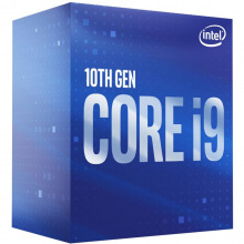 Процессор Intel Core i9 10900 2.8GHz (20MB, Comet Lake, 65W, S1200) Box (BX8070110900) (BX8070110900)