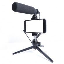 Мікрофон з триподом для мобільних пристроїв Maono by 2Е AU-CM10S Vlog KIT, 3.5mm (2E-MM011)