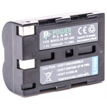 Аккумулятор PowerPlant Minolta NP-400, Pentax D-Li50 1550mAh (DV00DV1052)