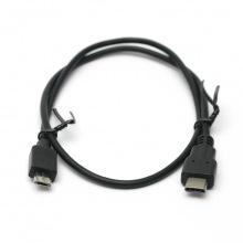 Кабель PowerPlant USB 3.0 Type-C – micro USB 0.5м (KD00AS1259)