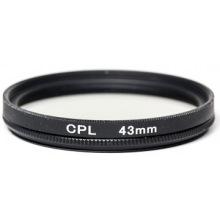 Светофильтр PowerPlant CPL 43 мм (CPLF43)