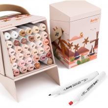 Спиртовые маркеры Arrtx Alp ASM-02SK 36 цветов, оттенок кожи (LC302208    )