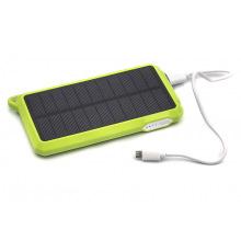 Универсальная cолнечная мобильная батарея PowerPlant/PB-SS002/10000mAh/green (PB-SS002G)