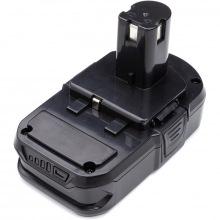 Аккумулятор PowerPlant для шуруповертов и электроинструментов RYOBI 18V 2.0Ah Li-ion (P102) (TB921072)