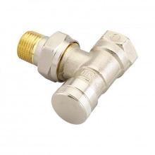 """Клапан Danfoss RLV Ду 15 термостатический, вх. 1/2 """"- вих. 1/2"""", угловой, никель (003L0143)"""