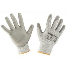 Перчатки NEO с полиуретановым покрытием, против порезов, р. 8 (97-609-8)