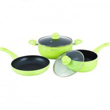 Набір посуду Gusto GT-2405/1 Green 5 предметів (GT-2405/1)