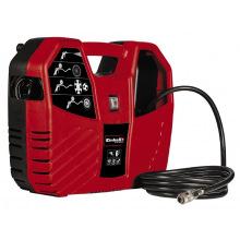 Компресор повітряний TC-AC 180/8 OF, 1100 Вт, 180 л/хв, 8 бар, безмасляний, набір інструментів і насадок (8 шт) (4010486)