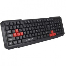 Клавiатура дротова Keyboard EGK102 Red USB (EGK102RUA)