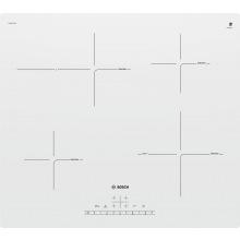Варочная поверхность Bosch встраиваемая индукционная - 60см/4 конф/1 зона розш/слайдер/белая (PUF612FC5E)