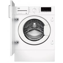 Вбудовувана пральна маш. Beko WITV8712X0W - 56см./8 кг./1400 об/15 програм/LED дисплей/А+++ (WITV8712X0W)