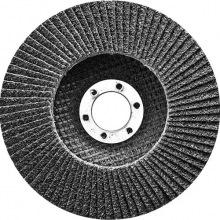 Круг пелюстковий торцевий конічний, Р 80, 125х22.2 мм,  СИБРТЕХ (MIRI74085)