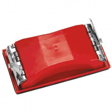 Брусок для шліфування, 210 х 105 мм, пластиковий із затискачами MTX (MIRI758309)