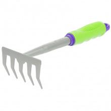 Граблі 5-зубі, 110 x 280 мм, прорезинена рукоятка, використ. у зборі з ручкою 630168, 630178  PALISAD (MIRI630038)