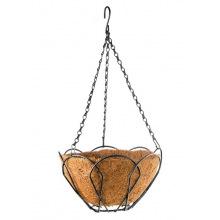 Підвісне кашпо, з кокосовою корзиною, 30 см, PALISAD (MIRI690028)