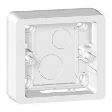 Коробка накладного монтажа Celiane Legrand 1 постовая белый (080241)