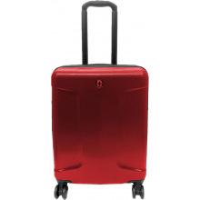 Чемодан пластиковый Wenger, Legacy, средний, 4 колеса (красный) (610143)