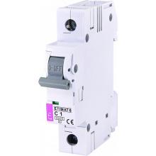 Автоматический  выключатель ETI ETIMAT 6  1p C  1A (6kA) (2141504)