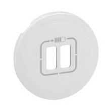Лицьова панель розетки Legrand 1xRJ45 6 (для UTP/FTP/SFTP), Celiane, білий (068256)