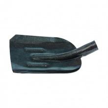 Лопата совкова з ребром жорсткості, рейкова сталь, без держака, Сибртех (MIRI61471)