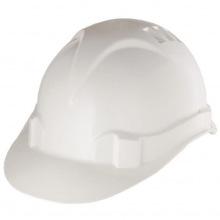 Каска захисна з ударостійкої пластмаси, біла, СИБРТЕХ (MIRI89114)