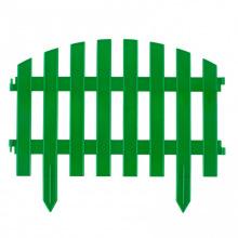 """Паркан декоративний """"Вінтаж"""", 28 х 300 см, зелений,  Palisad (MIRI65012)"""