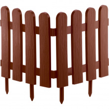 "Паркан декоративний ""Класика"", 29 х 224 см, теракот,  Palisad (MIRI65009)"