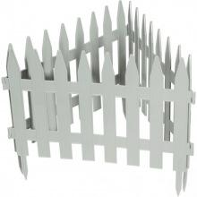 """Паркан декоративний """"Рейка"""", 28 х 300 см, білий, PALISAD (MIRI65004)"""