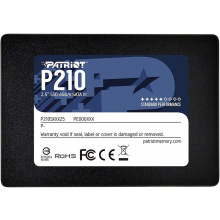 """Твердотільний накопичувач SSD 2.5"""" Patriot 1TB SATA TLC P210 (P210S1TB25)"""
