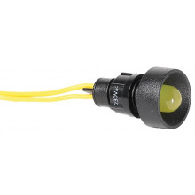 Лампа сигнальная ETI LS LED 10 Y 230 (10мм, 230V AC, желтая) (4770812)